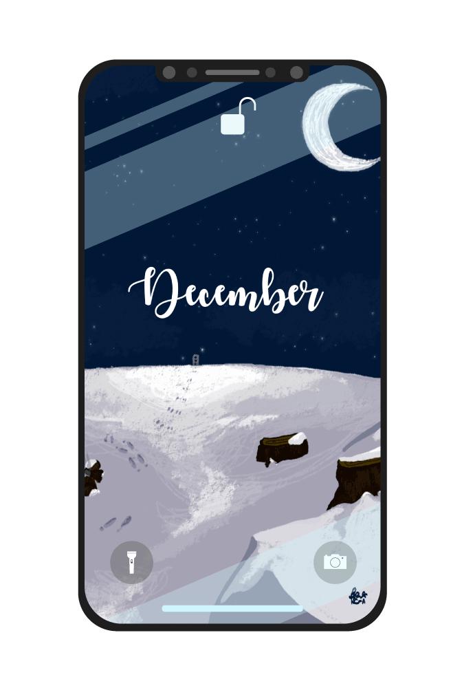 sfondo dicembre