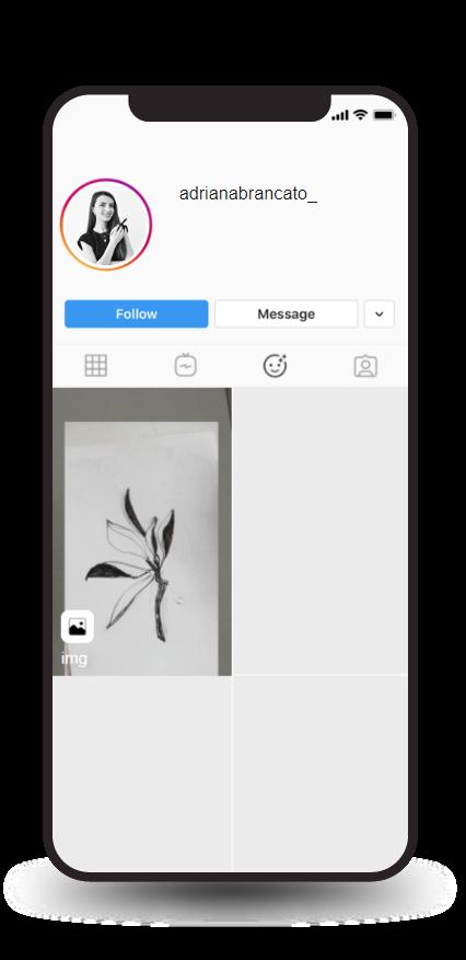 Anteprima filtro img realizzato da Adriana Brancato con Spark Ar Studio